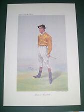 VANITY FAIR PRINT JOCKEY HERBERT RANDALL HORSE RACING