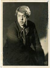 Photo Michel Simon Dédicace Acteur Cinéma Vers 1930