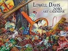 2010 Lowell Davis Art Calendar with 12 Color Prints