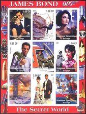 Congo James Bond/Secret World/Cinema/Films/Helicopters imperf sht (cs) (s5775a)