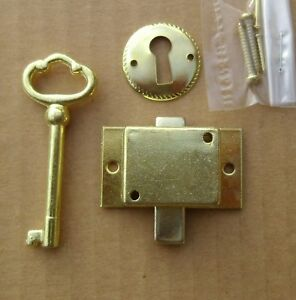 Cabinet Door Lock Set Key Curio Grandfather Clock China Jewelry NEW Replacement