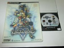 Kingdom Hearts II (Sony PlayStation 2, 2006) w/ Complete Official Strategy Guide