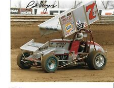 Autographed Rick Ungar World of Outlaws Sprint Car Auto Racing Photograph