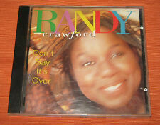 """Randy Crawford CD """" DON'T SAY IT'S OVER """" Warner"""