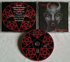 Corpus Mortale - Integration CD 1996 PRIVATE PRESS CMCD0196 iniquity pyrexia