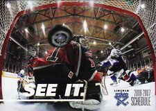 2006-07 LINCOLN STARS USHL JUNIOR ICE HOCKEY POCKET SCHEDULE