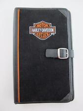 Harley Davidson NEW Travel Motorcycle Portfolio Binder Organizer Bi-Fold Pockets