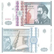 Romania 500 Lei 1992 P-101b Banknotes UNC