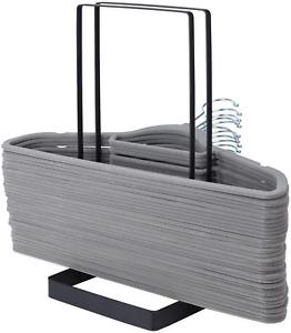 Hanger Stacker Storage Organizer Rack for Laundry Closet Caddy Stand Steel