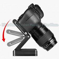 Aluminum Camera Folding Z Tripod Flex Pan & Tilt Ball Head Desktop Stand Holder