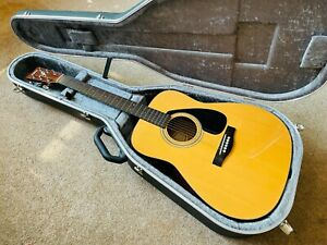 Yamaha FGX-412 Electro Acoustic Guitar Dreadnought Style 3 EQ Hiscox Hardcase