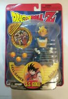 SS GOKU Cell Games DragonBall Z Figure & Medallion IRWIN TOY Dragon Ball Z 2001