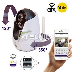 Caméra sans fil motorisée YALE Plan Tilt Zoom IP-303W HD720 avec audio et APP