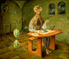 "Creation of the Birds  by Remedios Varo  14""  Paper Print Repro"