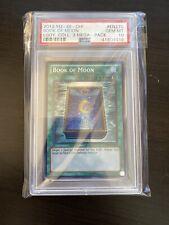 2012 PSA 10 YUGIOH COLLECTION SECRET RARE BOOK OF MOON