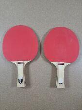 2 Ping Pong Table Tennis Paddles Stiga