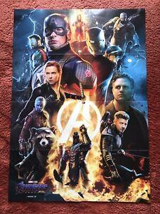 Avengers - Endgame Kinoplakat Poster A1, Thor, Iron Man, Hulk, Captain America