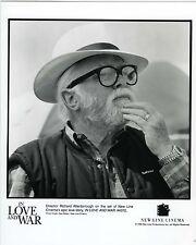 Richard ATTENBOROUGH director in Love and war cinéma cinéaste réalisateur
