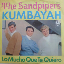 "7"" 1976 GERMAN PRESS RARE MINT- THE SANDPIPERS Kumbayah"