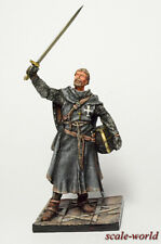 Tin soldier, miniature. Knight of the order of St John 54 mm