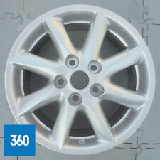 "NEW GENUINE TOYOTA AURIS HYBRID 16"" 8 SPOKE 6.5J SILVER ALLOY WHEEL PZ406E067AZC"