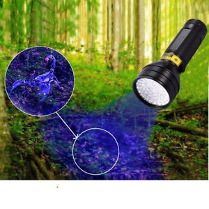 Ultra Violet LED Lamp 395NM Flashlight Blacklight Light Inspection Torch 51/21UV