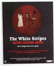 THE WHITE STRIPES 2003 Advert SEVEN NATION ARMY elephant