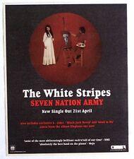 The White Stripes 2003 Advert Seven Nation Army elephant