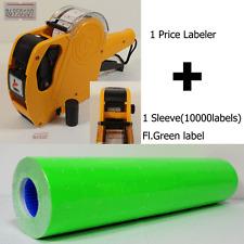 8digits Price Gun Labeler Mx 5500 10000 Green Labels Free Ink