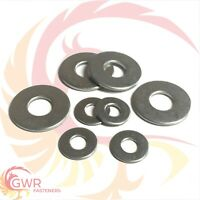 M4 M5 M6 M8 M10 M12 M16 M20 FORM C Flat Washers A2 Stainless Steel Wider Large