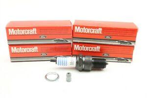 NEW Motorcraft Spark Plugs Set of 4 SP-466 Chevy GMC Dodge Datsun Honda VW 46-89