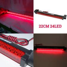 Car Red 24 LED 12V High Mount Third 3RD CHMSL Brake Stop Tail Light Lamp Add-on