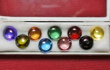 Powerful Nok Phra Gow 9 Colors Lucky Gems Naga Eye  Crystal Real Thai Amulet#R60