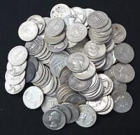 1 ROLL 40 COINS WASHINGTON QUARTERS 1964 AND PRIOR RANDOM DATES!!!