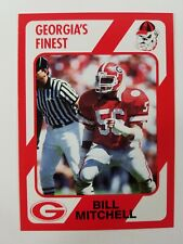 Bill Mitchell Georgia Bulldogs UGA Dawgs 89 Collegiate Collection Dalton GA NM