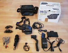 SABA SCM3 SVHS-Camcorder | Videokamera | CompactMovie | + großes Zubehörpaket