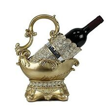 D'Lusso Designs WT42 Dlusso Designs Suzette Design Wine Bottle Holder NEW
