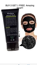 Black Face Mask Deep Cleanse Blackhead purifying natural peel-off
