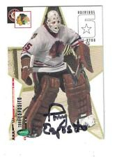 Tony Esposito AUTOGRAPH PARKHURST ORIGINAL 6 CARD SIGNED CHICAGO BLACKHAWKS