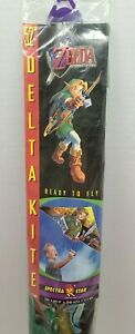"Vintage 1999 Spectrastar Nintendo Legend Of Zelda Ocarina Of Time 52"" Link Kite"