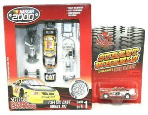 RACING CHAMPIONS Nascar 2000 1:64 DieCast Model Kit & 1999 Street Wheels MINT
