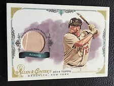 2014 Topps Allen & Ginter's Full Size Relics #FSR-MA Matt Adams Baseball Card