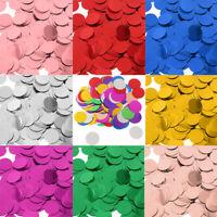30g Metallic Dots Table Confetti Sprinkles Foil Sequin Wedding Decor 2.5cm/1.5cm