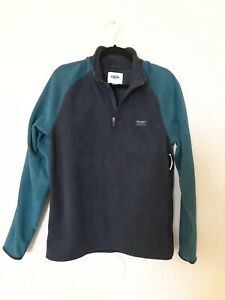 Old Navy Kids Boys Fleece ¼ Zip Pullover Sweater Size M New With Tag