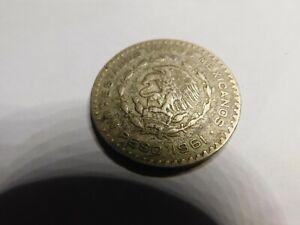 COIN-MEXICO 1 PISO 1961 SILVER #0277