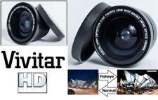 Objetivos ojo de pez Vivitar para cámaras