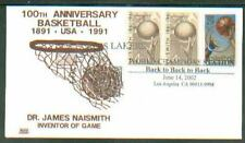 2002 LOS ANGELES LAKERS WORLD CHAMPIONS BACK TO BACK TO BACK CANCEL~GLEN CACHET