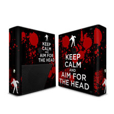 Xbox 360E Console Skin - Keep Calm - Zombie - DecalGirl Decal