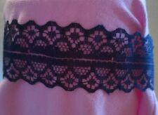 Dentelle bleue tour de cou Moulin Rouge Mariage Demoiselle D'honneur Anniversaire Bal robe fantaisie 822