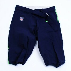 Seattle Seahawks Official Football Team-Issued Home Pants Size 26 - 44